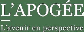 L'Apogée : l'avenir en perspective – Le Livre Logo